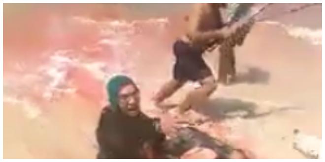 زوجة قتيل شاطئ الاسكندرية