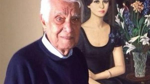 صورة وفاة زوج فاتن حمامة بعد شائعات زواجه من سلمى الشماع