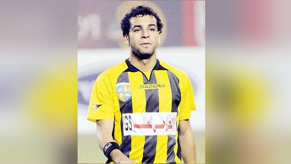 صورة أول أهداف محمد صلاح في الدوري المصري
