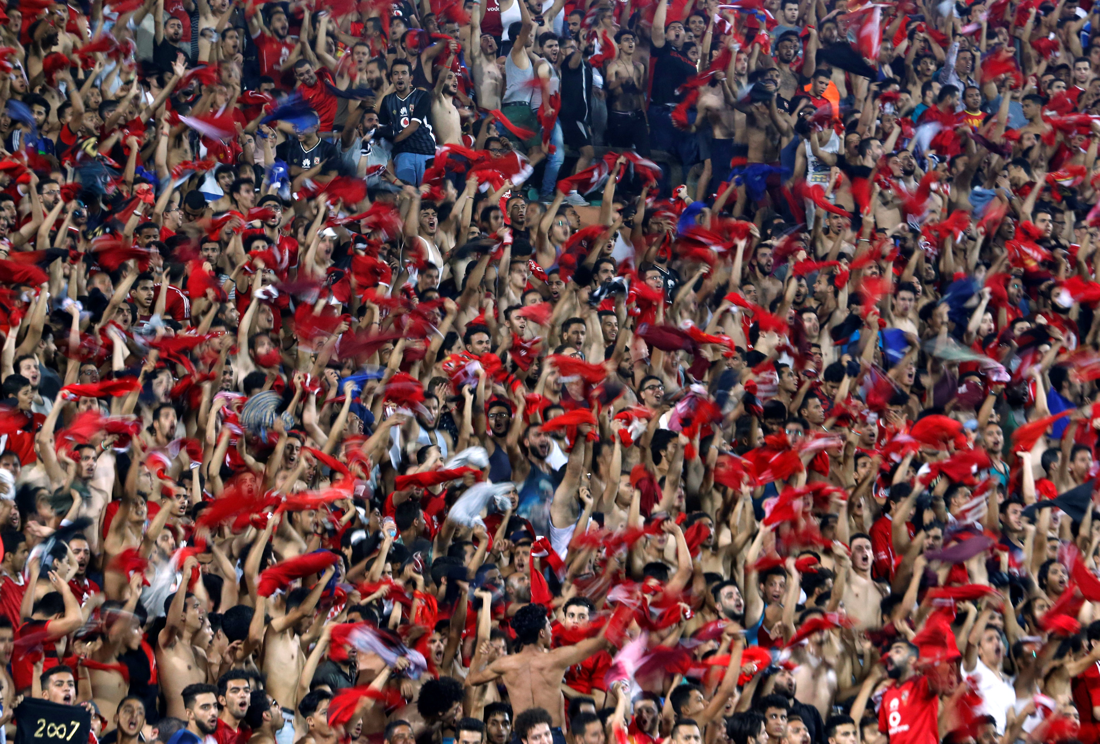 صورة الداخلية تحذر جماهير الأهلي قبل مباراة وفاق سطيف
