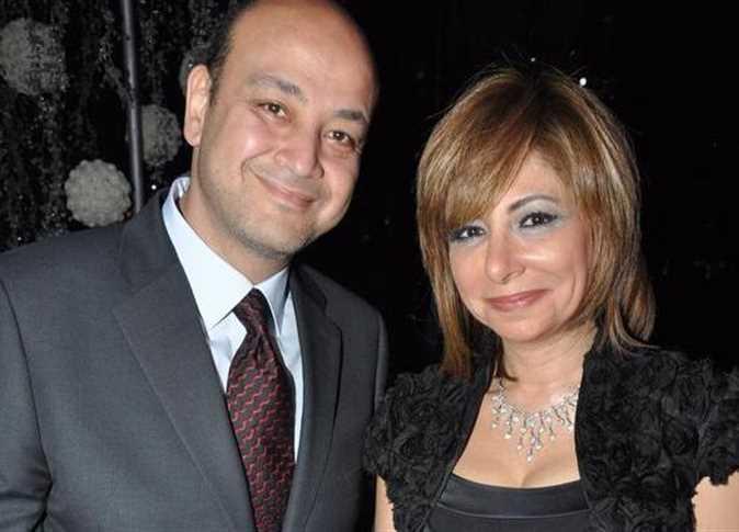 صورة عمرو أديب يعلق على عدم ظهور لميس الحديدي
