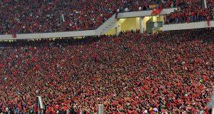 كاف يشترط حضور 60 ألف مشجع لمباراة الأهلى وحوريا