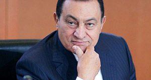 أحدث صورة للرئيس الأسبق محمد حسني مبارك