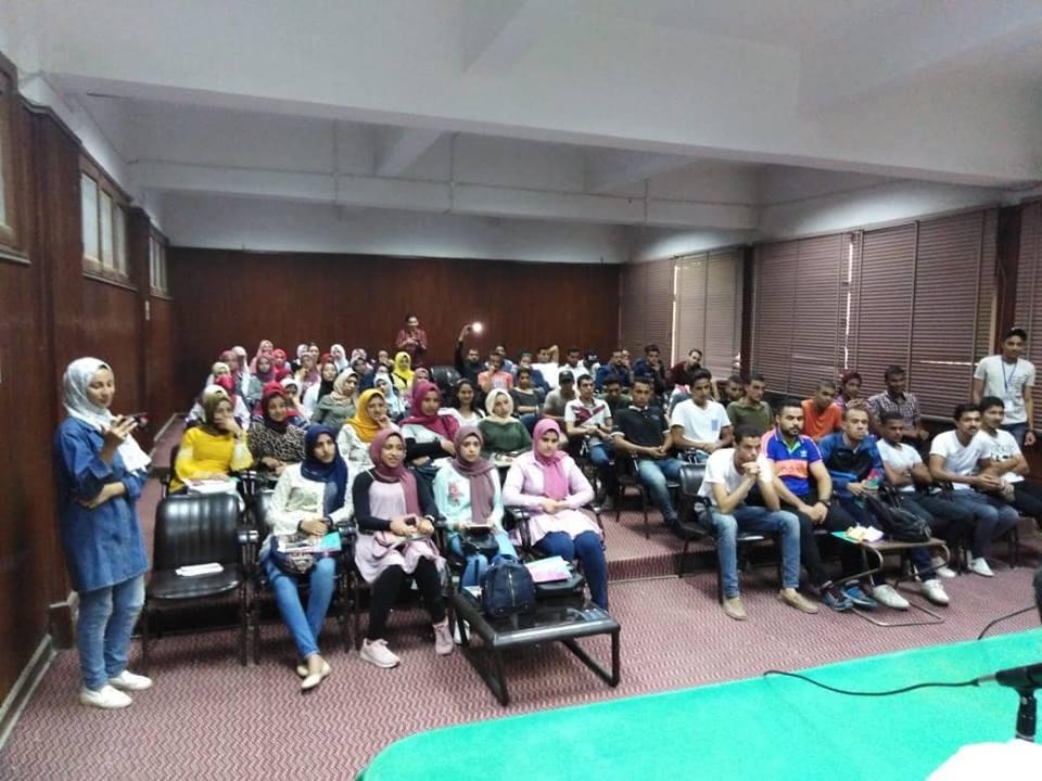 صورة ورشة عمل بعنوان الإعلام والأنشطة الطلابية بثلاثة كليات بجامعة الزقازيق