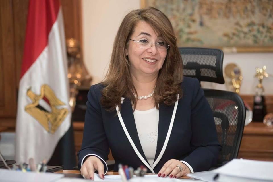 صورة وزيرة التضامن تؤكد دعمها لمبادرة «حاسس بيك» التي أطلقها فريق بسمة