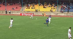 أول ظهور للاعب دجلة بقميص محمد صلاح أمام سوازيلاند