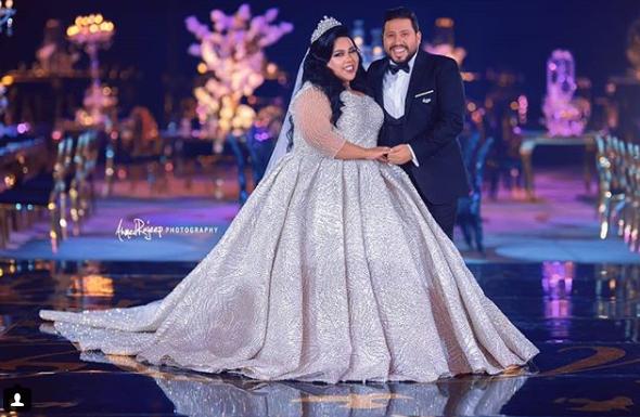 صورة الصور الأولى لحفل زفاف شيماء سيف ومحمد كارتر