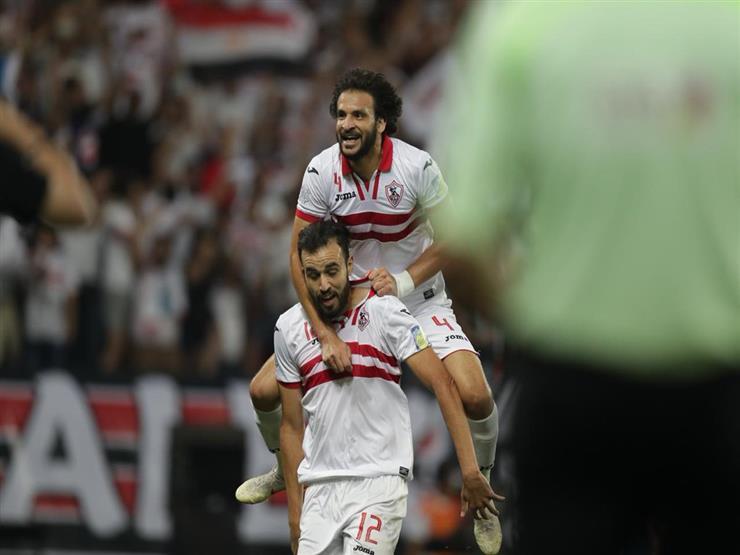 صورة بث مباشر مباراة الزمالك ومنية سمنود بكأس مصر