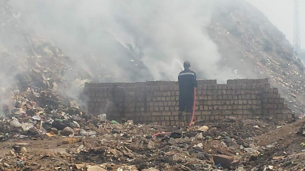 صورة بيئة الشرقية تحكم سيطرتها على مصادر التلوث للقضاء على السحابة السوداء