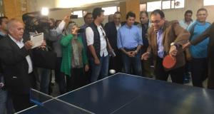متحدث الوزراء عن لعب مصطفى مدبولي التنس بالزقازيق