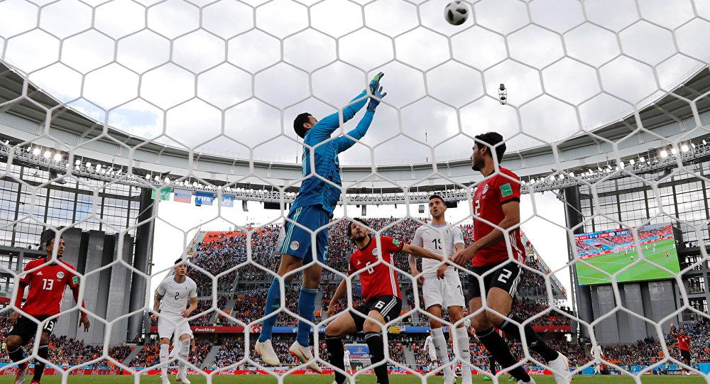 مصر تفوز على سوازيلاند بثنائية حجازي ومروان