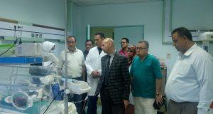 وكيل صحة الشرقية يزور مستشفى ديرب نجم وههيا