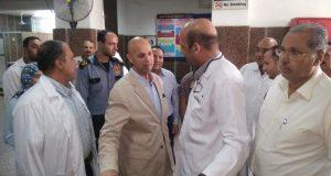 وكيل صحة الشرقية يقرر تشغيل مبنى الطوارئ بمستشفى فاقوس