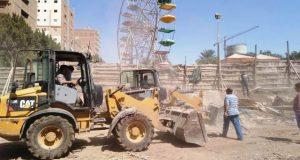 محافظ الشرقية يسترد المصرية بلازا