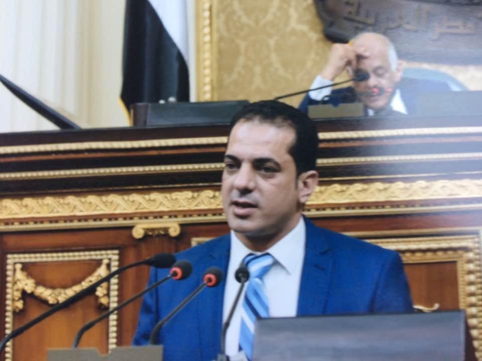 صورة برلمانى ينعى شهداء حادث المنيا: لن يزيد المصريين إلا إصراراً في إنهاء الإرهاب