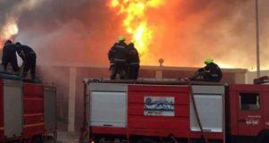 حريق بمدرسة إعدادي بالشرقية