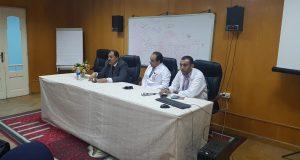 محاضرة عن كيفية التعامل مع حالات السموم بمستشفى ههيا
