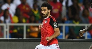 محمد صلاح يستعد لمباراة تونس
