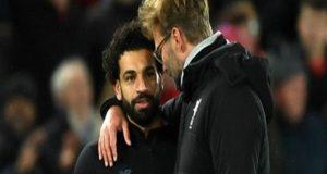 مدرب ليفربول يهاجم أجيري بسبب محمد صلاح