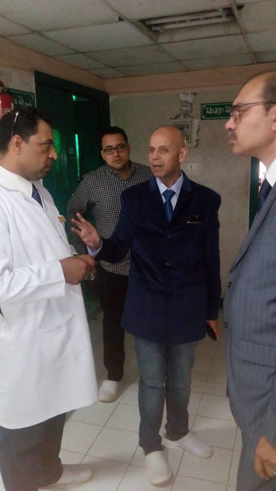 صورة وكيل صحة الشرقية يتفقد وحدة الغسيل الكلوي بمستشفى القنايات