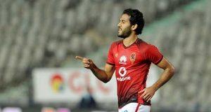 إصابة مخيفة لمروان محسن في مباراة الأهلي وبطل إثيوبيا
