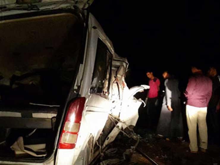 إصابة 11 شخص في حادث مروع بطريق ههيا الزقازيق