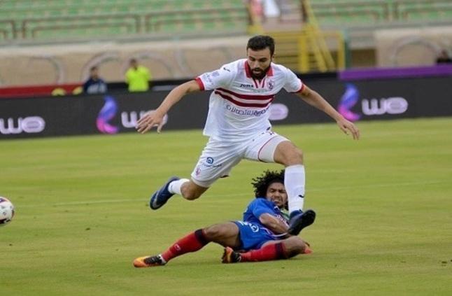 صورة بث مباشر مباراة الزمالك وبتروجيت بالدوري المصري