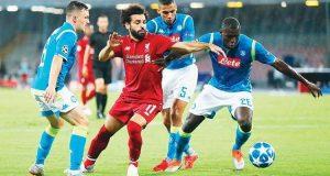 بث مباشر مباراة ليفربول ونابولي بدوري أبطال أوروبا