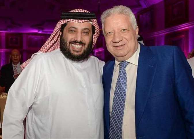 صورة تركي آل الشيخ يعتذر عن عدم زيارته للزمالك