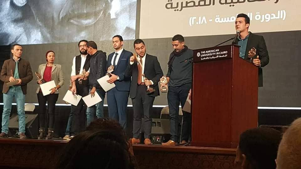 صورة الشاعر أحمد عثمان ابن الشرقية يفوز بجائزة أحمد فؤاد نجم