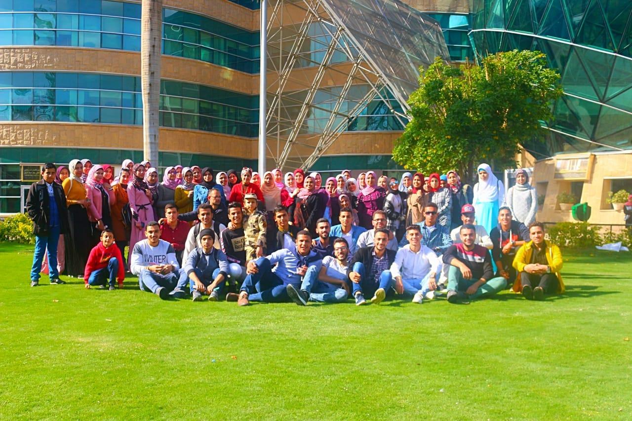 صورة طلاب تمريض جامعة الزقازيق ينظمون رحلة لمستشفى 57357