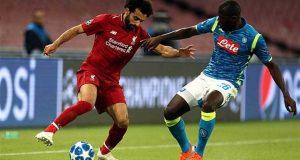 قناة مجانية تنقل مباراة ليفربول ونابولي بدوري أبطال أوروبا غداً