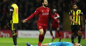 محمد صلاح فى التشكيل المثالي للدور الأول من الدوري الإنجليزي