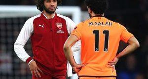 محمد صلاح يقود ليفربول أمام أرسنال