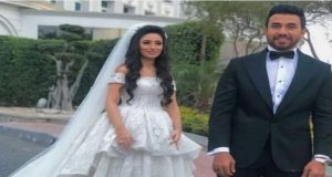 الصور الأولى لحفل زفاف تريزيجيه بحضور نجوم الفن