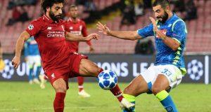 موعد مباراة ليفربول ضد نابولى بدوري أبطال أوروبا