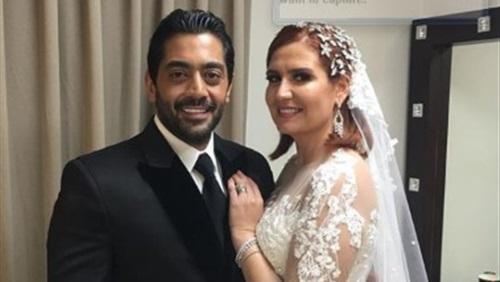 صورة أول تعليق من هنا شيحة على زفافها من أحمد فلوكس أمام الرئيس السيسي