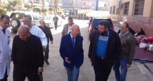 وكيل وزارة الصحة بالشرقية يفاجئ مستشفي ديرب نجم