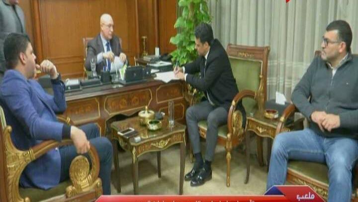 صورة رسميًا.. إيهاب جلال مديرا فنيًا للمصري البورسعيدي