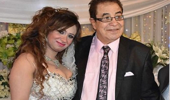 صورة أرملة سعيد طرابيك تكشف حقيقة زواجها من أحمد بدير