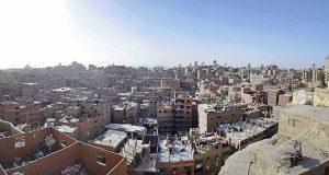 ارتفاع عدد الأسر المتضررة من صخرة منشية ناصر إلى 82 أسرة.