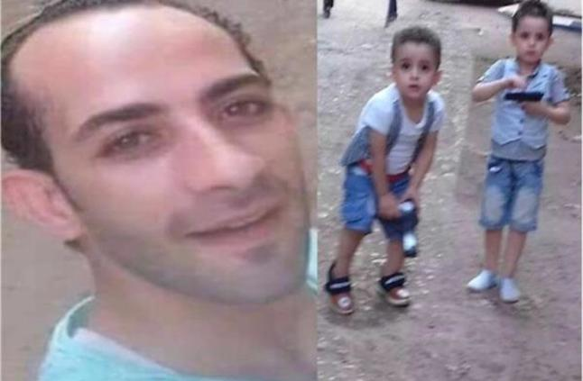 صورة المتهم بقتل طفليه بميت سلسيل يفجر مفاجأة أمام محكمة الجنايات