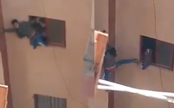 عقوبة الأم التي أجبرت نجلها على القفز من شرفة العقار