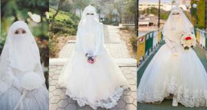 فساتين زفاف 2019 للمنتقبات
