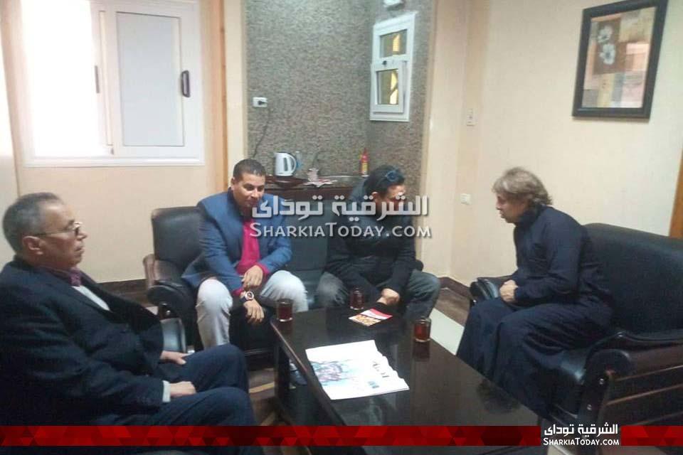 مجلس إدارة الإتحاد المصرى لكرة القدم يزور الشرقية اليوم
