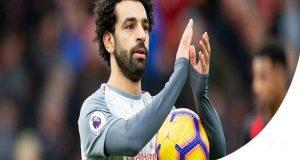 محمد صلاح لاعب الشهر في الدوري الإنجليزي