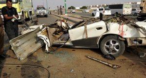 مصرع 3 أشخاص وإصابة 17 في حادث مروع بالشرقية