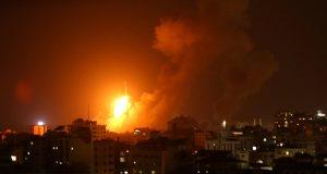 إسرائيل تقصف شمال قطاع غزة