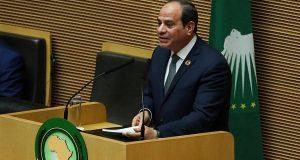 السيسي يعلن إلغاء القمة الثانية للاتحاد الأفريقي