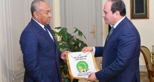 السيسى يؤكد حرص الدولة على نجاح كأس الأمم الأفريقية